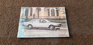 ford fairlane ltd zj fc owners manual no owners details v8 351 turbo 1981 K29