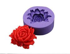 Rose  Fondant Cake Chocolate Sugarcraft Mold Pastry Tool Silicone Newest