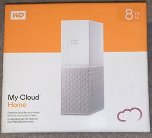 WD My Cloud Home 8TB - Brand New In Box Unused