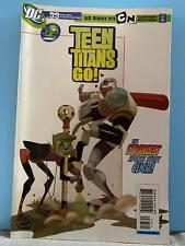 2004 TEEN TITANS GO! Comic #33 Cartoon Network ~ Titans VS Villains Baseball!