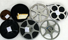 7 x Vintage Pathescope, Cecol, Cyldon 9.5mm film Reels 300ft, with Graf Zeppelin