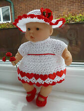 Dress Hand Knitted/Crocheted Reborn Doll Clothing