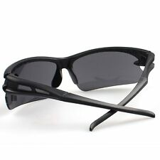 Sports Outdoor Cycling Bicycle Bike Goggles Glasses UV400 Mens Sunglasses Black