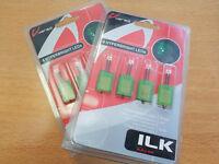 2 Pack Varad Vision Hyperbright Interior LEDs Green ILK102