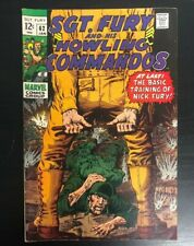 Sgt. Fury and his Howling Commandos #62 VF (8.0)
