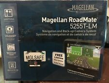 Magellan RoadMate 5255T-LM w/Lifetime Traffic & Lifetime Maps and Back-Up Camera