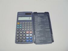 Casio FX-65 Two Way Solar Power Fraction Calculator w/ Cover 10+2 Digits