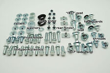90pc PLASTICS BODYWORK BOLT KIT HONDA CRF 150 250 450 SEAT FORK GUARD SHROUDS
