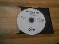 CD Indie The King Blues - Headbutt (2 Song) Promo TRANSMISSION disc only