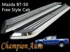 Mazda BT-50 BT50 Super Cab Freestyle Cab Side Steps Aluminum 2012-2018 CMP94