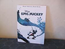 Disney Epic Mickey guide Prima official good condition