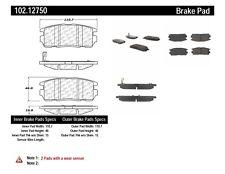 Disc Brake Pad Set-C-TEK Metallic Brake Pads Rear Centric 102.12750