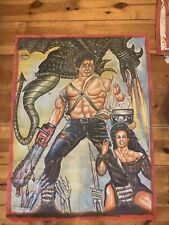 army of darkness Ghana Movie Poster Oil On Floursack