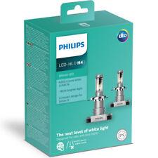 PHILIPS H4 LAMPADE LED X-treme Ultinon LED 6200K +160% 12V 11342ULWX2