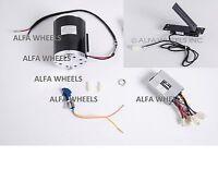 1000W 48V bracket electric scooter motor+Rev Control box key lock+Foot Throttle