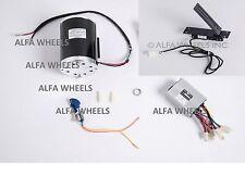 1000W 48V bracket electric scooter motor w control box key lock & Foot Throttle