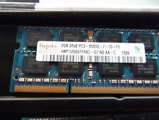 Hynix 4GB (2x 2GB) 2Rx8 PC3- 8500S-7-10-F2. HMT125S6TFR8C-G7 NO AA-C 1026