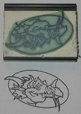 Friendly Dragon Rubber Stamp by Amazing Arts cute!