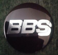 4 x Wheel Center Hub Cap replacement Badge Sticker 56mm BBS silver black