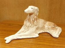 More details for vintage sylvac borzoi russian hunting sighthound figurine #19 lovely condition