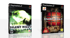 Silent Hill 2 PS2 Replacement Spare Game Case Box + Cover Art Work (No Game)