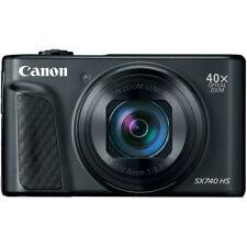 New Canon PowerShot SX740 HS Digital Camera - BLACK - 20.3MP Wifi 4K Video