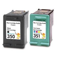 HP 350 + HP 351Remanufactured Ink Cartridges C5200 C5240 C5250 C5280 C5283 C5288