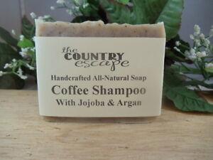 Coffee Shampoo Bar - Cleans and Lathers Great- Handmade - Gentle & Moisturizing