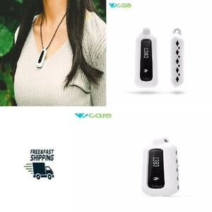Pendant Necklace For Fitbit One Activity and Sleep Tracker Wristband Band White