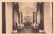 AIX-LES-BAINS Corbières intérieur de la chapelle du christ-rédempteur