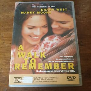 A Walk to Remember DVD R4 Like New! FREE POST