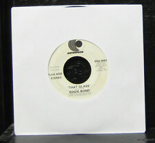 "Eddie Bond - That Glass VG+ 7"" Vinyl 45 Record Enterprise 1973 Promo ENA-9063"