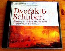 Dvorak & Schubert CD From The New World & No 8 Unfinished Symphony No 9 BERLIN