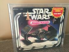 Vintage 1983 Star Wars Darth Vader Tie Fighter Never Opened! Kenner AFA 80 Look!