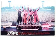 """Rob Zombie 2012 Concert Tour Calendar W/ Band Photo & Audience Poster 11"""" X 17"""""""