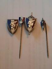 Lot de 4 insignes LVF LFC WW2 France Vichy original