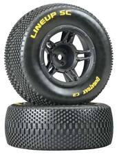 NEW Duratrax 1/10 Lineup SC Tire / Wheels C2 Mounted Rear Slash (2) DTXC3679