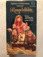 RUMPELSTILTSKIN, AMY IRVING , BILLY BARTY, VHS