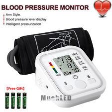 Automatic Digital Upper Arm Blood Pressure Cuff Monitor Pulse Rate BP Machine US