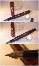 Celluloid fountain pen Hand Made Stylo Triton Blancheurpens - Penna Stilografica