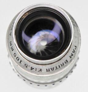 Pam Britar 105mm f4.5 for Kardon Leica SM  #A1041