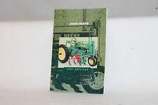 1991 ERTL TOYS JOHN DEERE FARM TRACTOR EQUIPMENT CATALOG, ORIGINAL