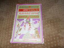 Untold Adventures Of Santa Claus Ogden Nash 1964 1st Edition