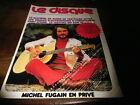 MICHEL FUGAIN - Mini poster couleurs !!! VINTAGE 70'S !!!