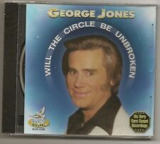 "GEORGE JONES, CD ""WILL THE CIRCLE BE UNBROKEN"" NEW SEALED"