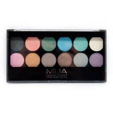 MUA Make up Academy Professional Eyeshadow Palette Undressed 12 Shades Metallic