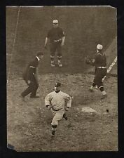 1911 JOHNNY KLING Chicago Cubs Baseball Action Photo