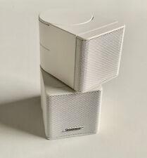 Bose Lifestyle Jewel Cube Lautsprecher Weiß