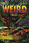 Blue Bolt Weird Tales 118 Comic Book Cover Art Giclee Reproduction on Canvas