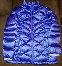 North Face 550 Down Parka Coat Girls SZ XL Purple